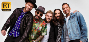 Sony Music Entertainment Canada – Backstreet Boys in Las Vegas – Win a trip for 2 to Las Vegas, 2-night accommodation and 2 tickets to see Backstreet Boys in concert