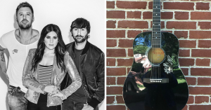 Sounds Like Nashville – Win a grand prize of an autographed guitar signed by the members of Lady Antebellum & a copy of NOW Country 11 on CD OR 1 of 9 minor prizes
