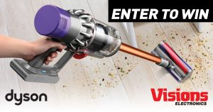 Visions Electronics – Win a Dyson Cyclone V10 Absolute valued at $799