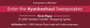Yankee Candle Haul – Win a $1,000 Yankee Candle Shopping spree