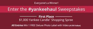 Yankee Candle Haul – Win a $1,000 Yankee Candle Shopping spree