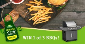 Cavendish Farm – Conquer the Grill – Win 1 of 3 barbecues