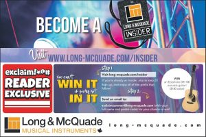 Exclaim – Long & McQuade – Win an Epiphone acoustic guitar