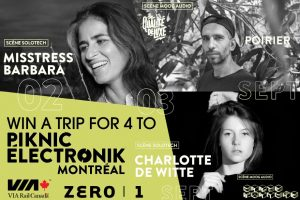 Exclaim – Piknic Electronik – Win a trip for 4 to Piknic Electronik Montreal