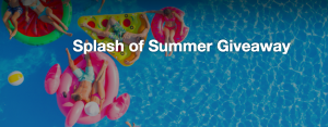 Flooring Canada – Splash of Summer – Win a Yeti cooler, flamingo water float, and Ray Ban sunglasses for the entire family (total valued at $1,000)