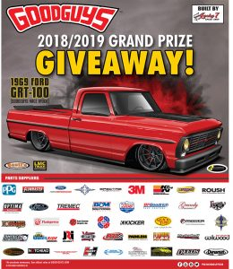 Good Guys – Win a 1969 Ford GRT-100 Truck valued at $40,000