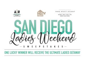 Hearst Communications – HGTV AR Workshop San Diego Ladies Weekend – Win a prize package valued at $3,680
