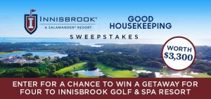 Hearst Communications – Win a getaway for 4 to Palm Harbor, Florida for 5 days valued at $3,300