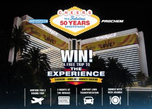 Legend Brands Cleaning – 2018 Gold Anniversary – Win a trip for 2 to Las Vegas