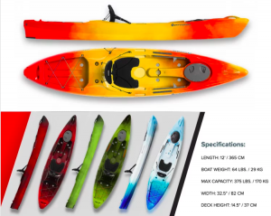 Paddling – Win a Perception Pescador 12.0 Kayak valued at $697