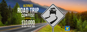 Parkland Fuel Corporation – Ultimate Road Trip – Win 1 of 3 prizes of $10,000 Ultramar gift cards each