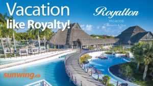 Sunwing Vacations – Vacation Like Royalty – Win a trip for 2 to Varadero, Cuba valued at $4,000 CDN