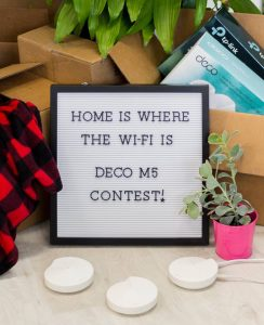 TP-Link – Win 1 of 4 TP-Link Deco M5 Whole Home Wi-Fi Systems