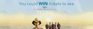 Wonderlist – Kenny Chesney – Win 1 of 4 double passes to Kenny Chesney performance