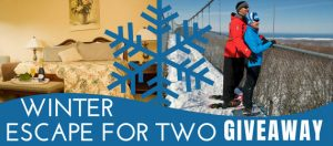 400Eleven – Win a Winter Escape for 2 with a View including one night stay & trail passes and equipment rental