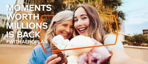 Aimia Canada – Moments Worth a Million Miles – Win 1 of 5 prizes of one million Aeroplan Miles each