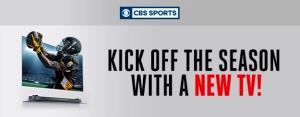 CNET & CBS Sports – Win a LG Wallpaper 65″ TV valued at US$7,000