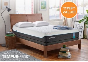 Ashley Homestore – Win 1 of 3 Tempur-Pedic mattress sets
