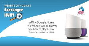 Atlas Van Lines – Canada Scavenger Hunt – Win 1 of 2 Google Homes