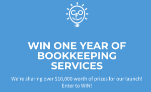 CFO for Small – Win one year of bookkeeping services