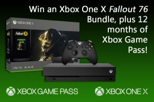 Exclaim – Win an Xbox One X 'Fallout 76' Bundle and 12 months of Xbox Game Pass