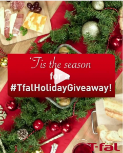 Tfal Canada – Holiday Giveaway – Win an exclusive T-fal prize pack valued at $1,450 CAD