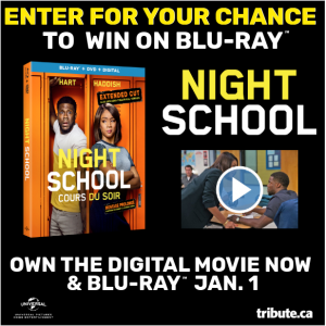 Tribute Publishing – Win 1 of 5 copies of Night School on Blu-ray