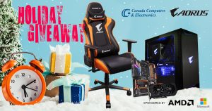 Gigabyte USA – Win Canada Computers AMD System valued at $2,050 CAD