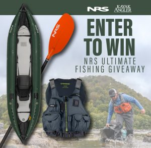 Kayak Angler – Win an NRS Ultimate Fishing package valued at $1,235