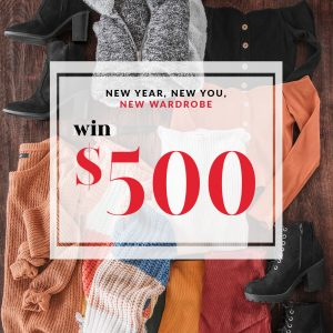 Priceless – New Year, New You – Win $500 to revamp your wardrobe