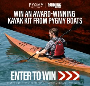 Rapid Magazine – Win a Pygmy Boats 2019 wooden kayak kits valued at $1,995