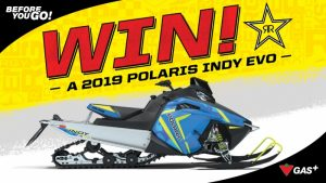 Rockstar – Win a 2019 Polaris Indy EVO valued at $6,999 CAD