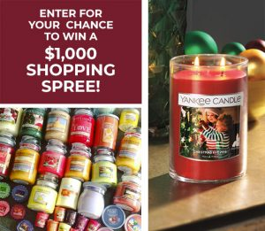 Yankee Candle Haul – Win a $1,000 Yankee Candle Shopping Spress