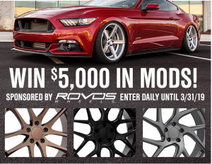 American Muscle – Win $5,000 in credit for the purchase at americanmuscle.com