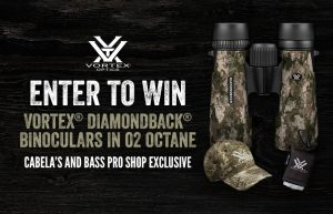 Cabela's Retail – Vortex – Win a prize pack valued at $430
