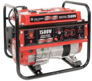 Canadian Woodworking & Home Improvement – Win a Power Force 1500 watt Gasoline Generator from King Canada