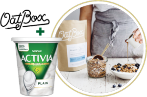 Danone – Activia Challenge – Win 1 of 55 prizes valued at $79 CAD each