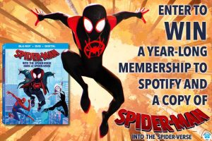 Exclaim – Spider-Man: Into the Spider-Verse – Win a grand prize of a year-long membership of Spotify Premium & a Blu-ray/DVD/digital download combo-pack of the film OR 1 of 4 minor prizes