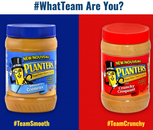 Johnvince Foods Corp – Win 1 of 3 Mr. Peanut $500 Shopping Spree prize packages valued at $500 each