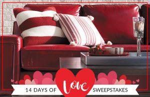La-Z-Boy – 14 Days of Love – Win a La-Z-Boy loveseat valued at $2,000