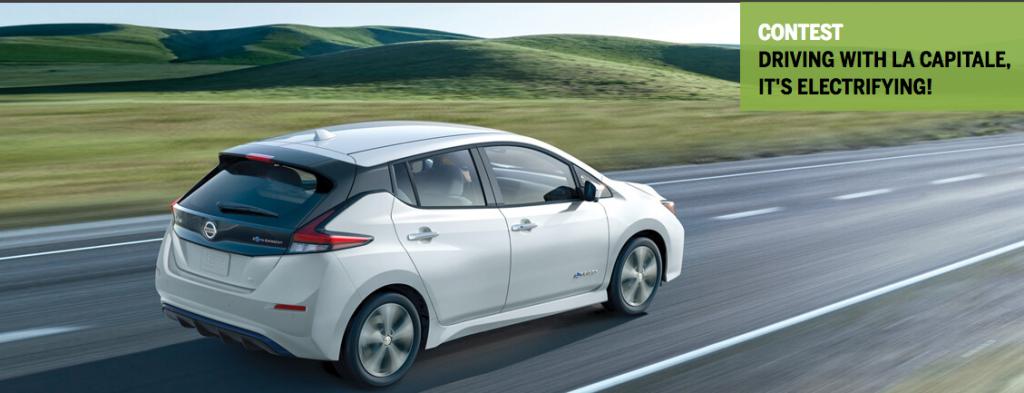 Lacapitale General Insurance Win A 2019 Nissan Leaf S Elec Giveawayca