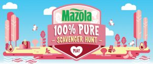 Mazola – Win a grand prize of a $1,500 grocery gift card OR 1 of 10 minor prizes of a $250 grocery gift card each
