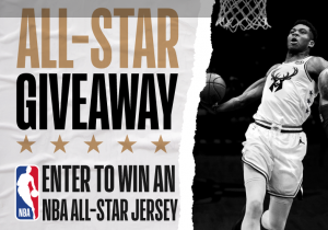 NBA Properties – NBA All-Star Edition Jersey – Win 1 of 10 NBA All-Star Edition Uniform of the winner's choice valued at $140 CDN each