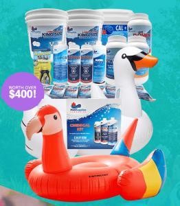 Pool Supplies – Splash Into Spring – Win a Pool Supplies package valued at over $400