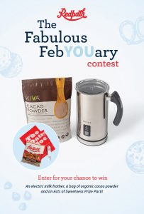 Redpath Sugar – The Fabulous FebYOUary – Win a prize pack valued at $109