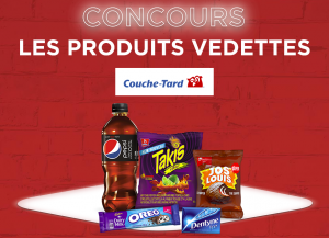 TVA Group – Les Produits Vedettes Couche-Tard – Win a $6,000 cash