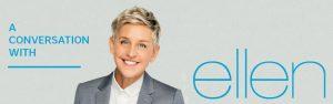 Wonderlist – Ellen 2019 – Win a pair of front row tickets to A Conversation with Ellen DeGeneres valued at $1,017 CDN