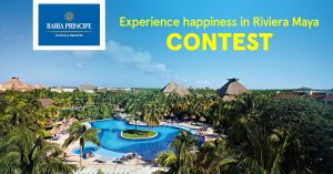 Air Transat – Experience Happiness in Riviera Maya – Win a one-week all-inclusive vacation package for 2 in Riviera Maya, Mexico valued at $3,000