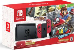 American Express – Win 1 of 3 Nintendo Switch Super Mario Odyssey Editions valued at $469 each