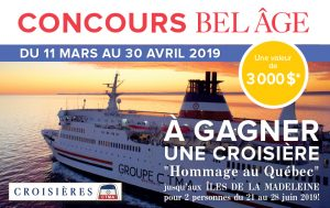 Bayard Canada – Win a week-long cruise for 2 to the Iles de la Madeleine valued at $3,000